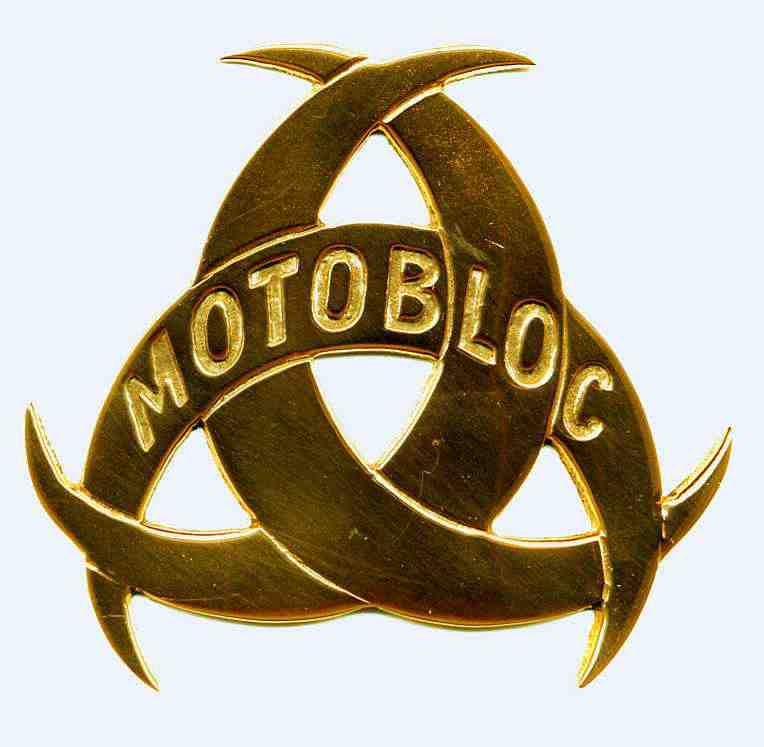 Motobloc Badge